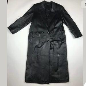 Vtg 1980's Preston & York Trench Coat Jacket